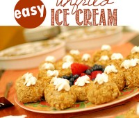 Unfried Ice Cream| recipe at TidyMom.net