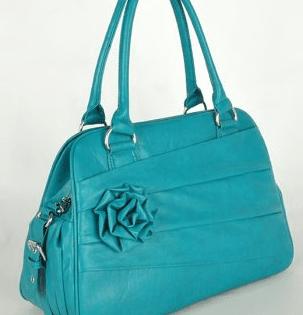 Jo Totes Rose bag- Teal