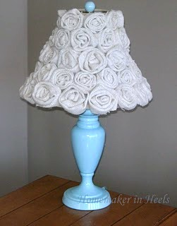 Pottery Barn Kids Inspired Flower Lamp
