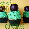 pot of gold cupcakes