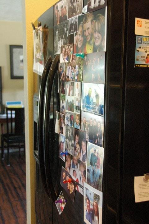 Refrigerator clutter