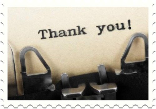 A Note of Thanks ...... | TidyMom