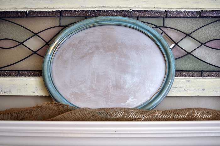 Vintage Inspired Mirror