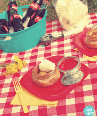 Pie in a jar Virtual Earth Day Picnic
