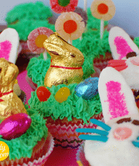 spring easter cupcakes
