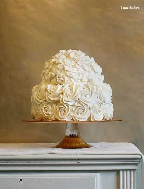 royal wedding rose cake