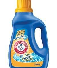A&H Power Gel Oxi Clean detergent