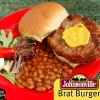 Johnsonville Brat Burger