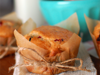 Mixed Berry Muffins in Parchment Paper Wrappers