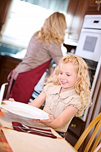 Kid Friendly:  Dinner Prepping 