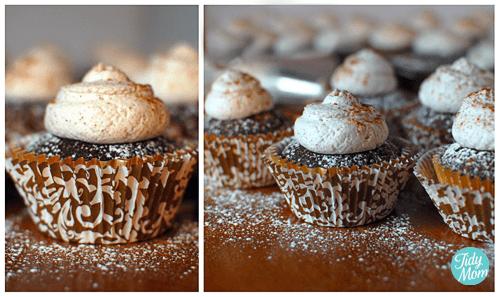 spiced mocha cupcakes