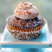 spiced mocha cupcake
