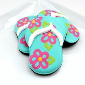 Flip Flop Cookies