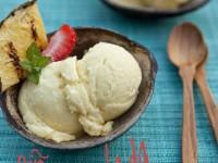Piña Colada Sorbet – Food For My Family {Guest Post}