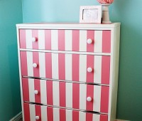 stripped rehab dresser