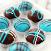Baby Blue Velvet Cake Truffles