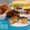 frozen banana bites
