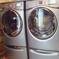 Duet washer and dryer
