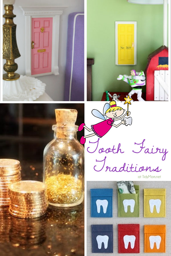 From tiny fairy doors, to gold coins and fairy dust it's these magical moments from childhood that they will remember for a life time at TidyMom.net