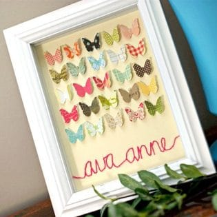 butterfly specimen art