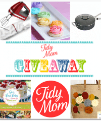 TidyMom Favorite Things giveaway