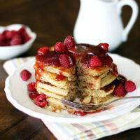 5 grain pancakes with flax