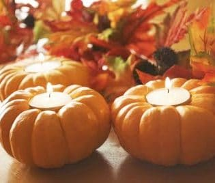 pumpkin candles