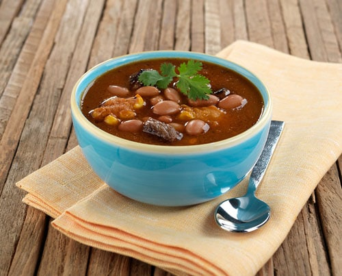 Bush's Bean Inspired & Pinto Steak and Dumpling Soup recipe