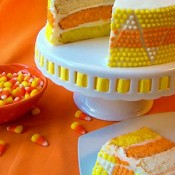 Candy Corn Cake