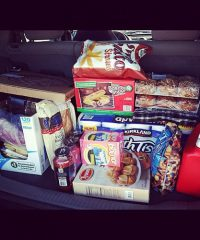 I shared my first trip to Costco on Instagram