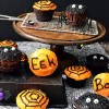 Halloween spider cupcakes