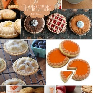 20 Pie Cookies to make for Thanksgiving! at TidyMom.net