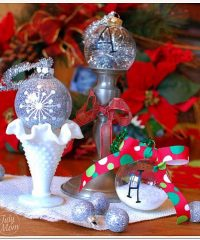 3 Easy Handmade Christmas Ornaments