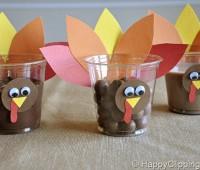 Turkey Cups Craft