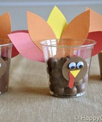 Turkey Cups Craft