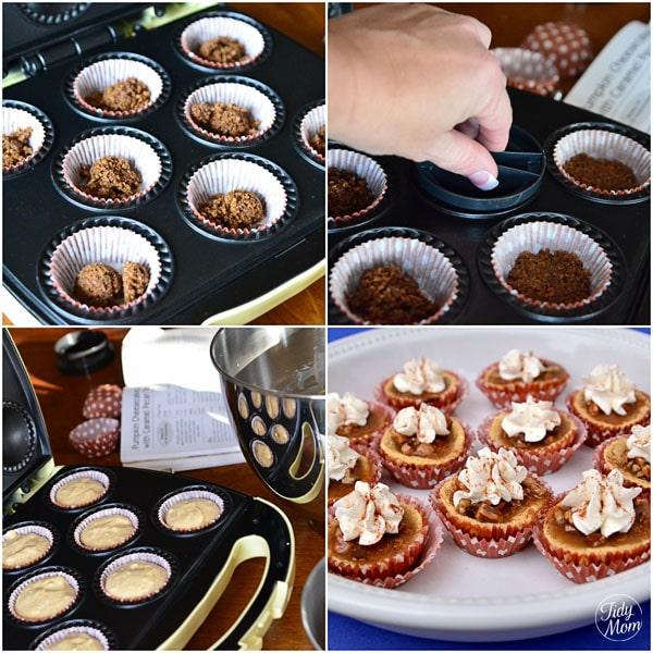 Pumpkin Cheesecake Recipe Babycakes Cupcake Maker