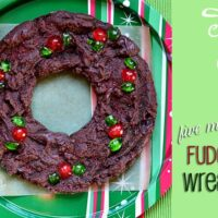 Five Minute Fudge Wreath 60