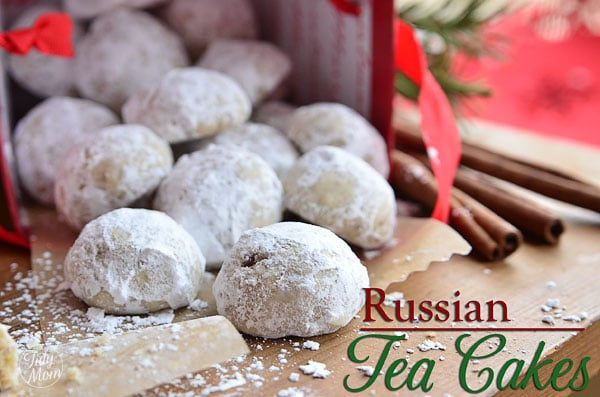 Russian Tea Cakes : I'm Lovin' It