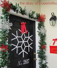 Snow Flake Front door