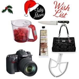 TidyMom Holiday Wish List