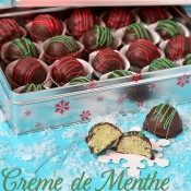 creme de minthe truffles
