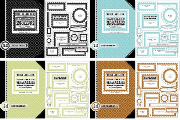 Cathe Holden World Label Branding Kits