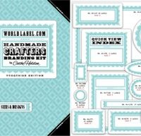 Free Printable Crafting Lables from Cathe Holden