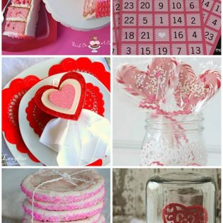Valentines Day food and crafts