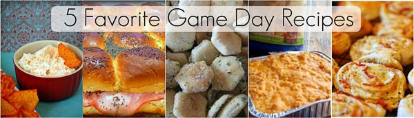 favorite game day recipes