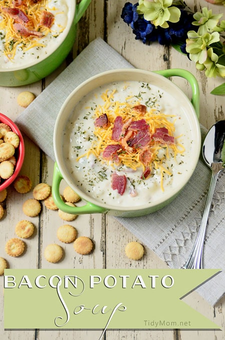 Bacon Potato Soup recipe