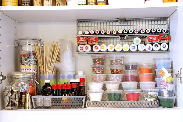 how to organize kitchen spices with lori lange recipegirl, Kitchen design
