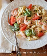 Shrimp & Broccoli Fettuccine