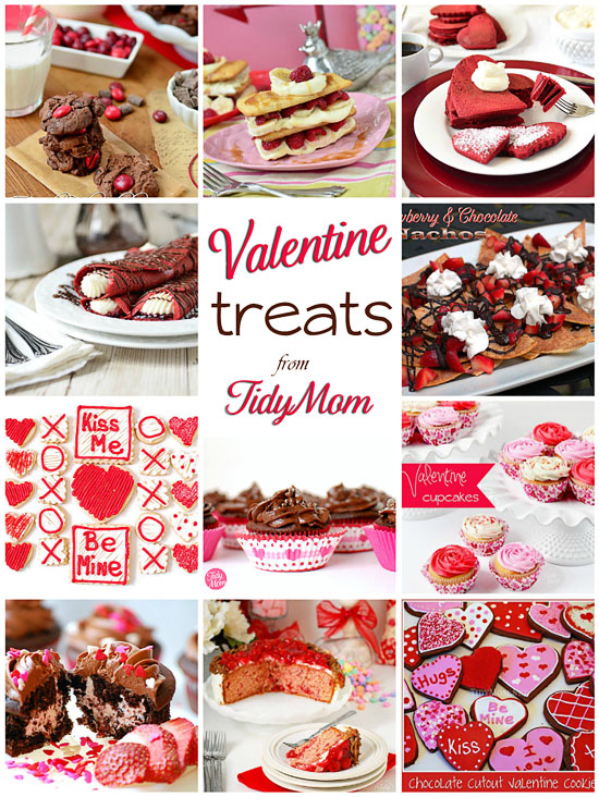 TidyMom Valentine Treats
