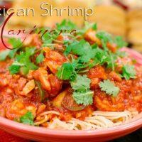 Mexican Shrimp Marinara recipe